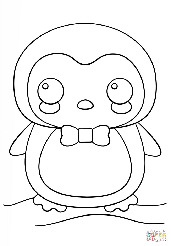 Penguin Coloring Pages Pdf