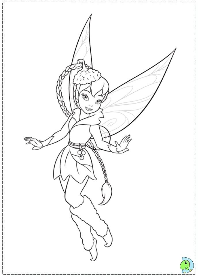 Tinkerbell Secret Of The WIngs Coloring Pages - Coloring Home