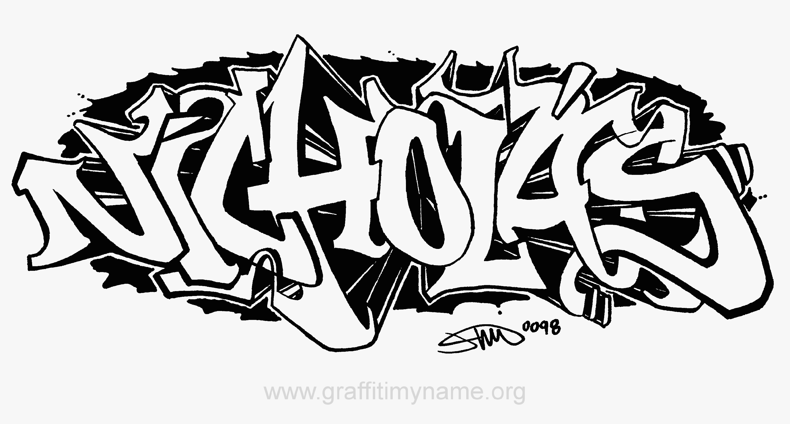 Printable Graffiti Coloring Pages Coloring Home Graffiti Coloring Pages Names