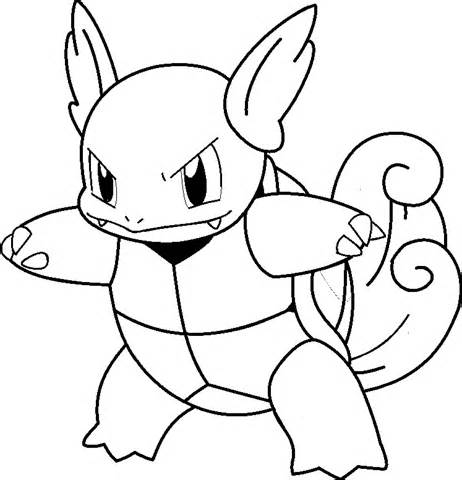 Pokemon Coloring Pages Blastoise Squirtle Wartortle Blastoise Pokemon Coloring Pages Coloring Pages .