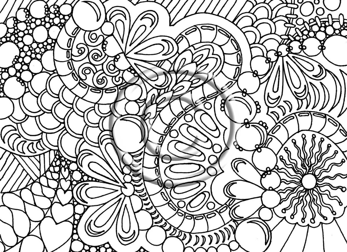 Free printable christmas coloring pages adults - Free Coloring Pages For Adults Printable Image 36 Voteforverde Com