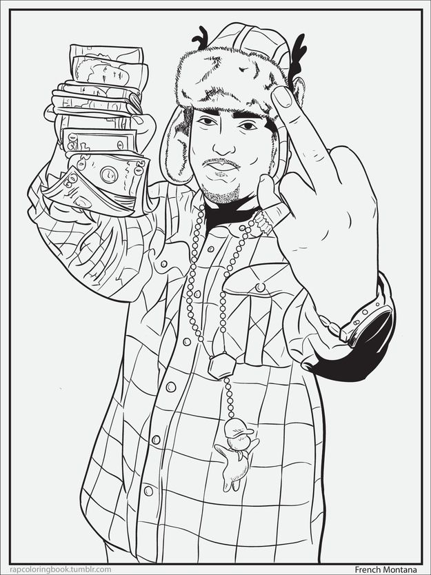 Hip Hop Coloring Pages AZ Coloring Pages