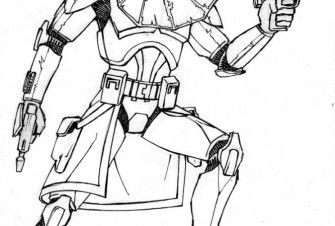 Captain Rex Coloring Pages For Kids And For Adults Coloring Home