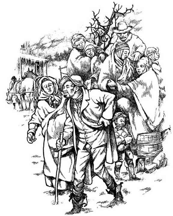 underground railroad coloring pages - photo#5