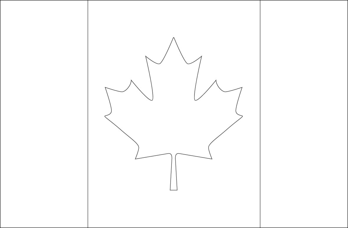 - Canada Flag Coloring Page - Coloring Home
