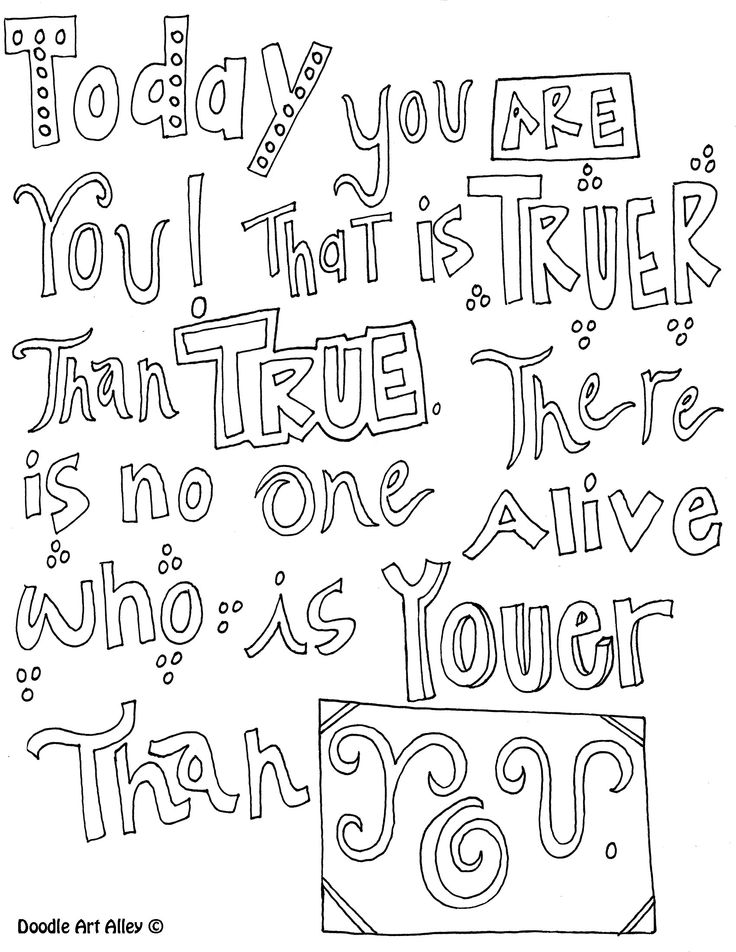 Quote Coloring Pages Pdf : Quote coloring page az pages