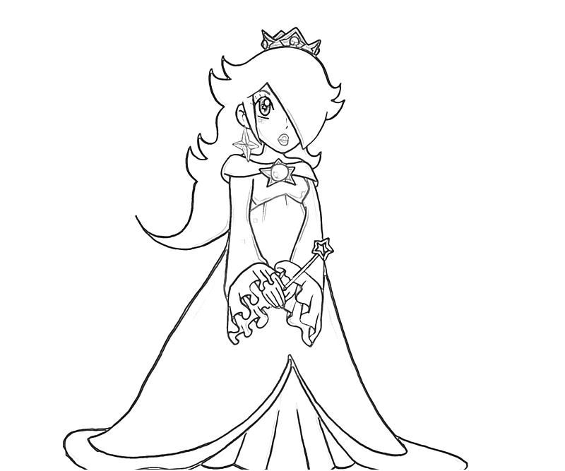 11 Pics Of Chibi Rosalina Coloring Pages Princess Chibi Princess Rosalina Free Coloring Sheets