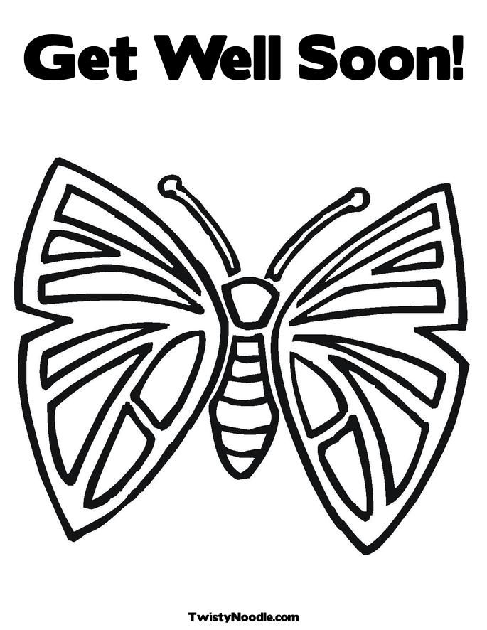 Get Well Soon Coloring Pages To Download And Print For Free