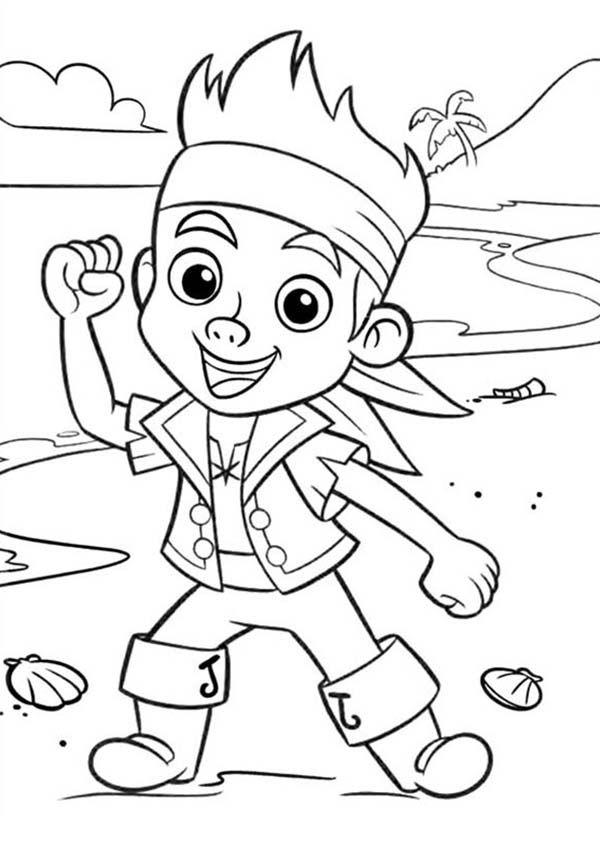 Chibi Jake Neverland Pirate Coloring Pages: Chibi Jake ...