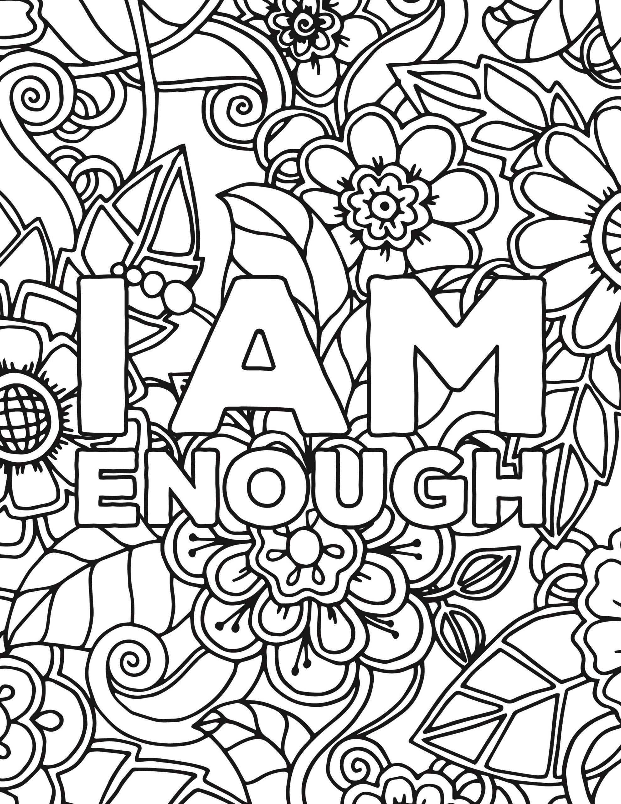 Download Self-esteem Coloring Pages - Coloring Home