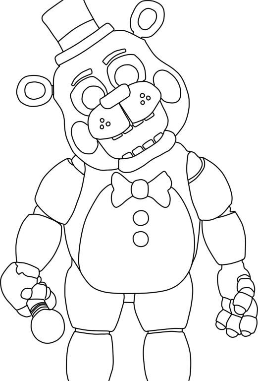 Various Five Nights At Freddy's Coloring Pages To Your Kids ...
