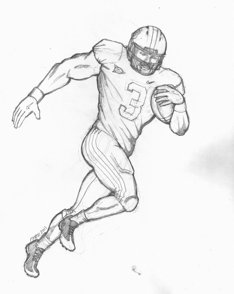 Ohio State Buckeyes Coloring Pages
