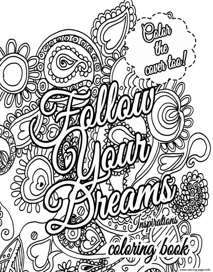 Best Coloring: Free Printable Quote Coloring Pages For ...