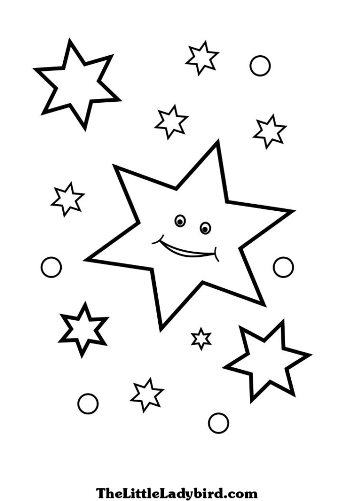 Coloring Pages Stars - Coloring Home