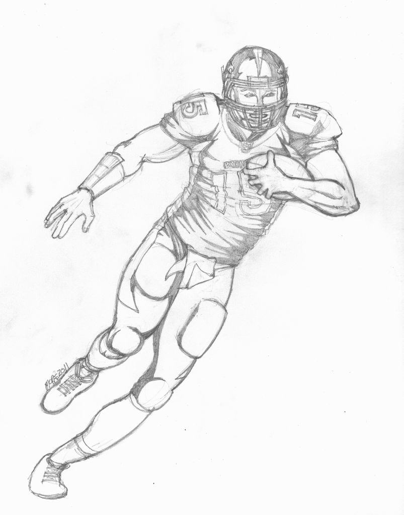 Cam Newton Coloring Pages Page 1