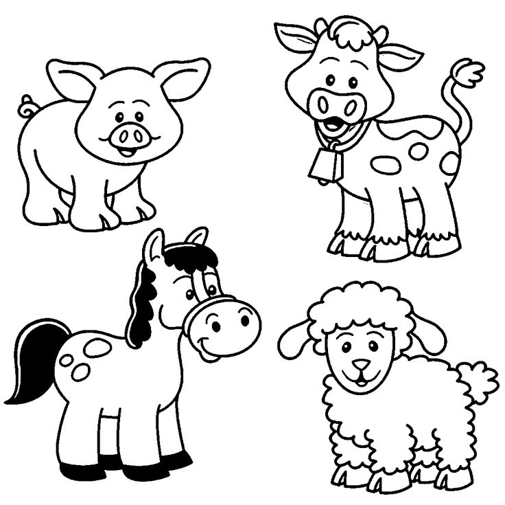 1000+ ideas about Animal Coloring Pages on Pinterest | Colouring ...