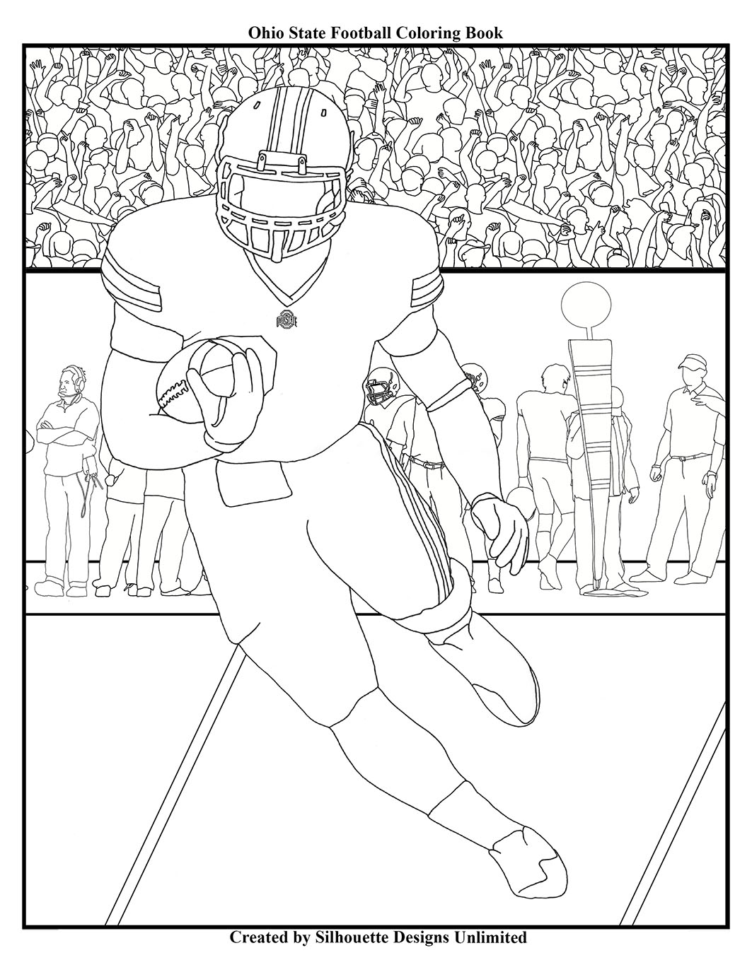 Ohio State Books Coloring Coloring Pages