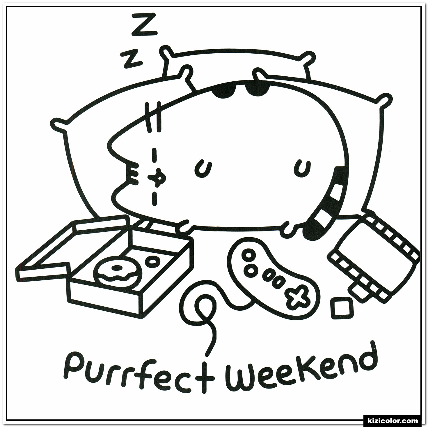 Best Coloring Pages: Luxury Coloring Pusheen To Print ...