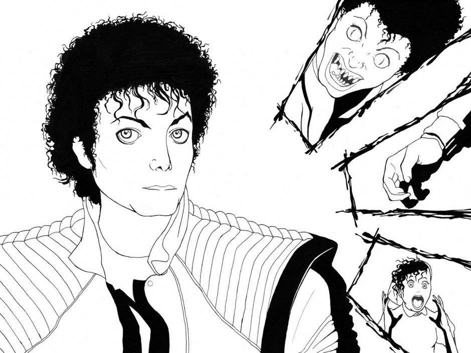 Printable michael jackson coloring pages coloring home - Coloriage michael jackson ...