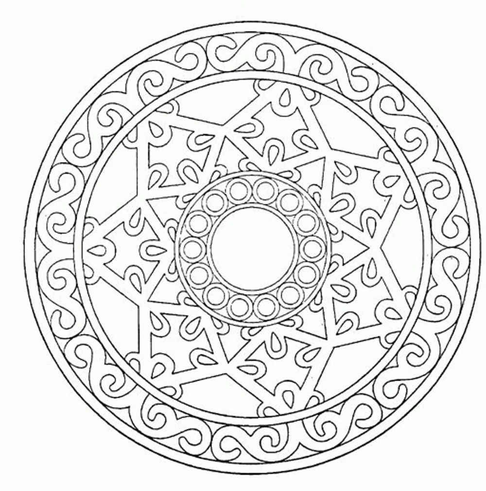 Free coloring pages for reading - Reading Free Printable Mandala Coloring Pages Voteforverde Com