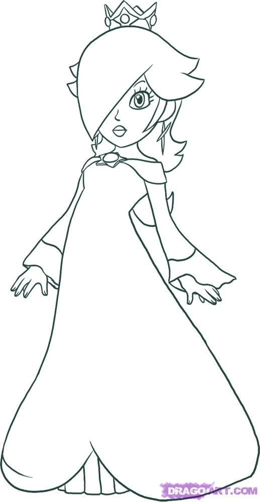 Rosalina Things To Draw Pinterest Coloring Home