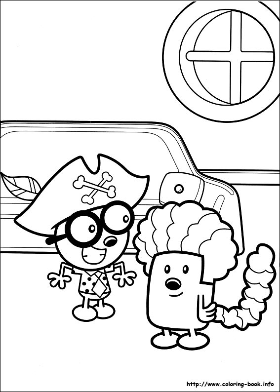 wa wa wubbzy coloring pages - photo #26