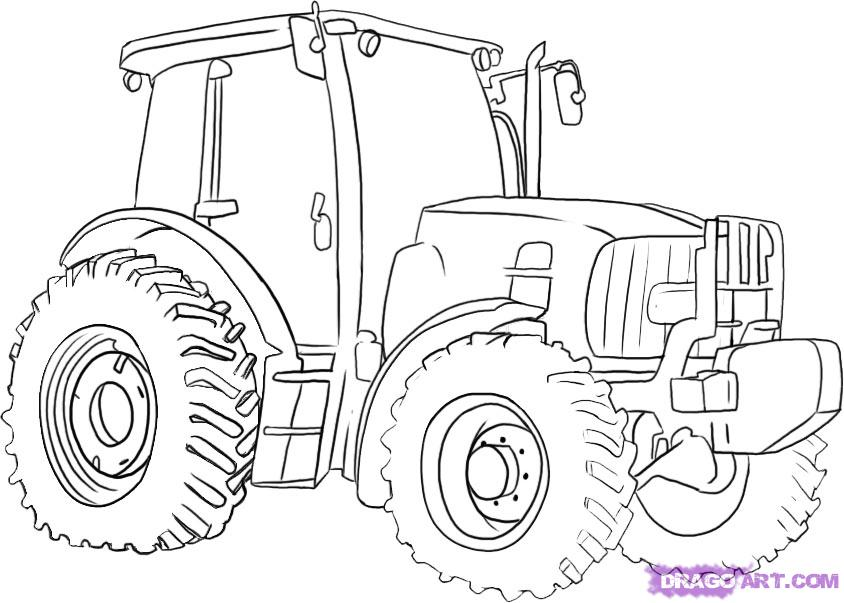 john deere printable coloring pages - photo#19