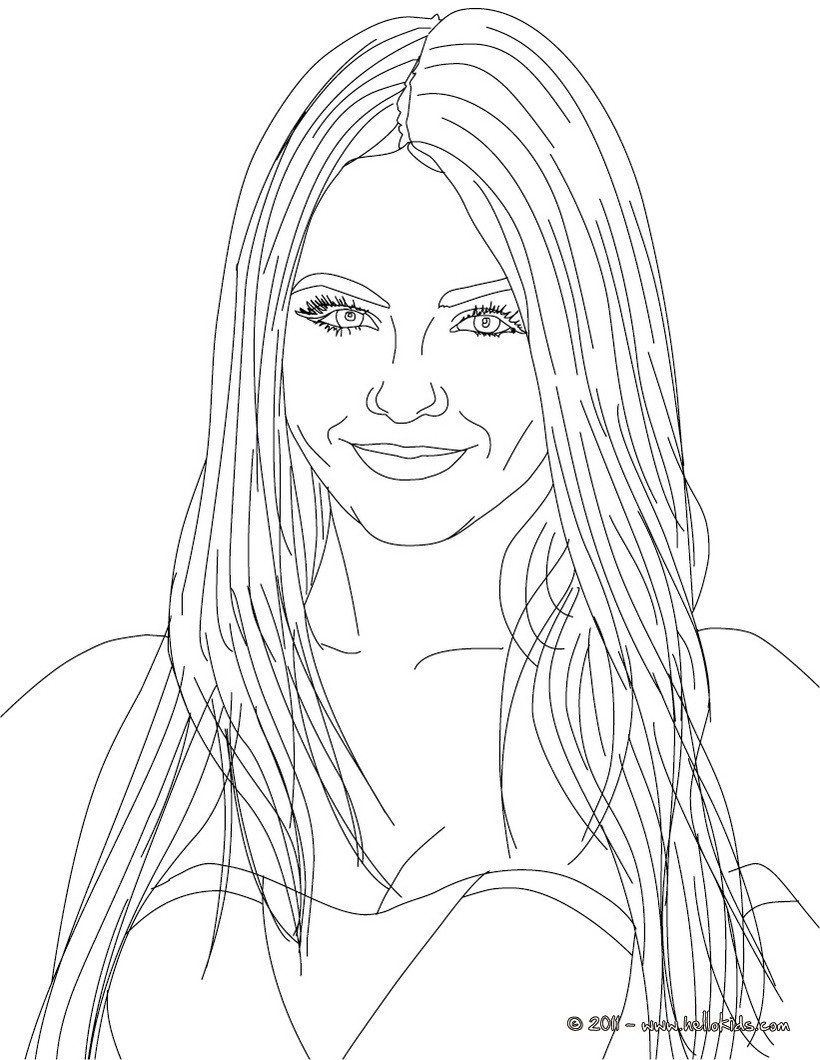 Free Printable Coloring Pages For Victorious