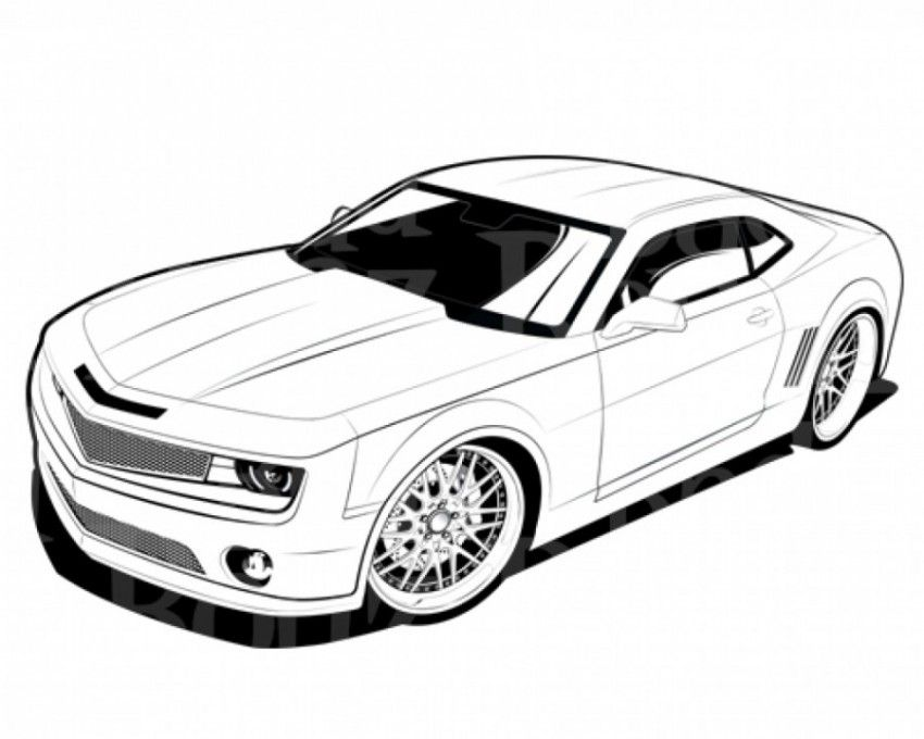 Chevy Coloring Pages Print Coloring Home