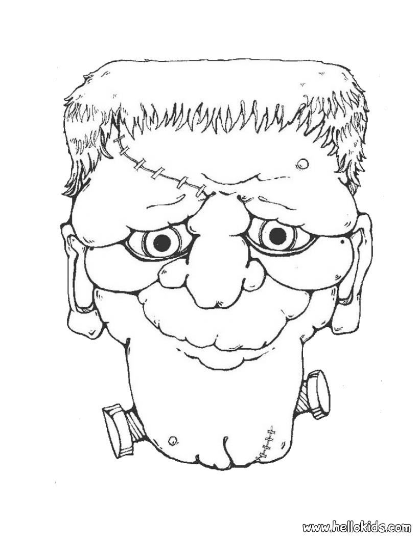 Creepy Doll Coloring Pages Coloring Home