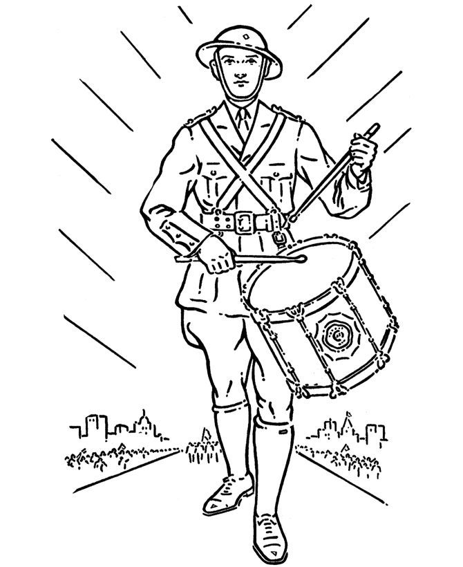 Paratrooper coloring pages az coloring pages for World war ii coloring pages