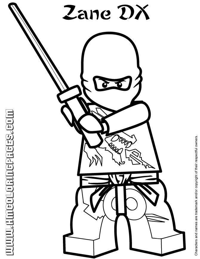 Ninjago Coloring Pages Jay Coloring Home
