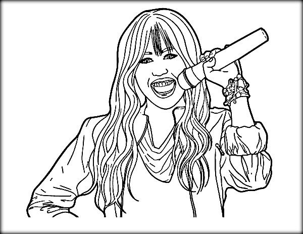 free coloring pages for hanah - photo#39