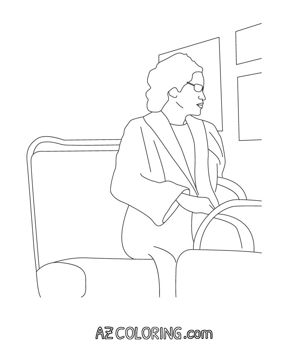 rosa parks coloring book pages - photo#25