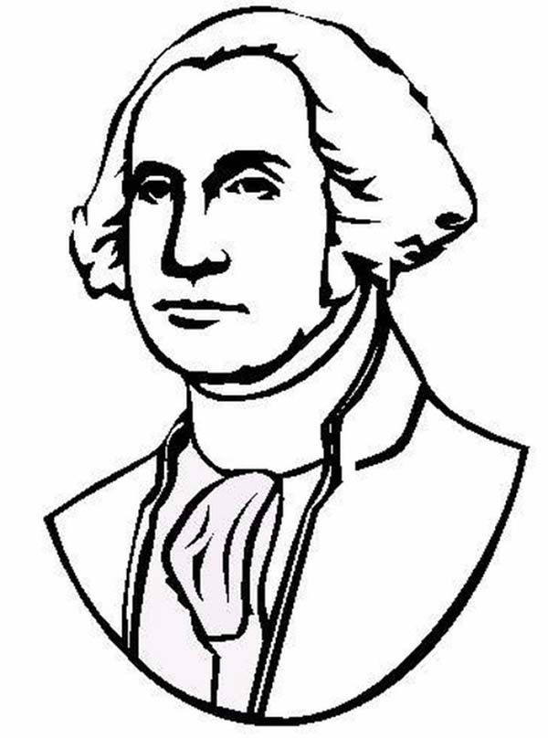 President coloring pages coloring home for George washington coloring pages printable