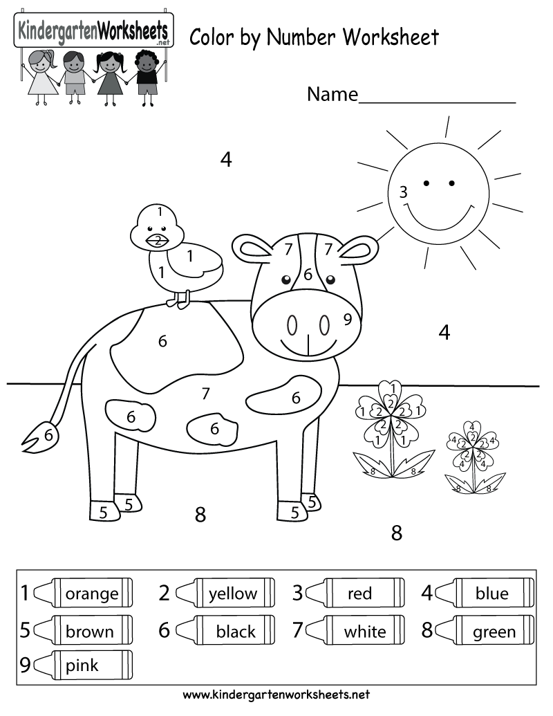 Color Green Worksheets For Preschoolers Coloring Pages Kindergarten Free  4th – Fundacion Luchadoresav