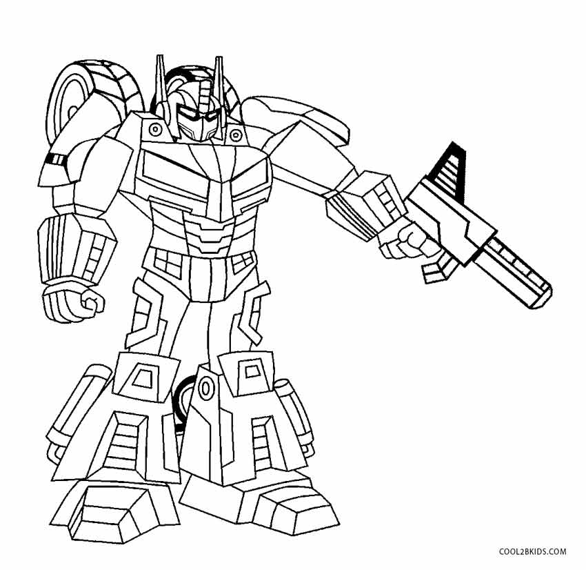 Free Printable Robot Coloring Pages For ...cool2bkids.com