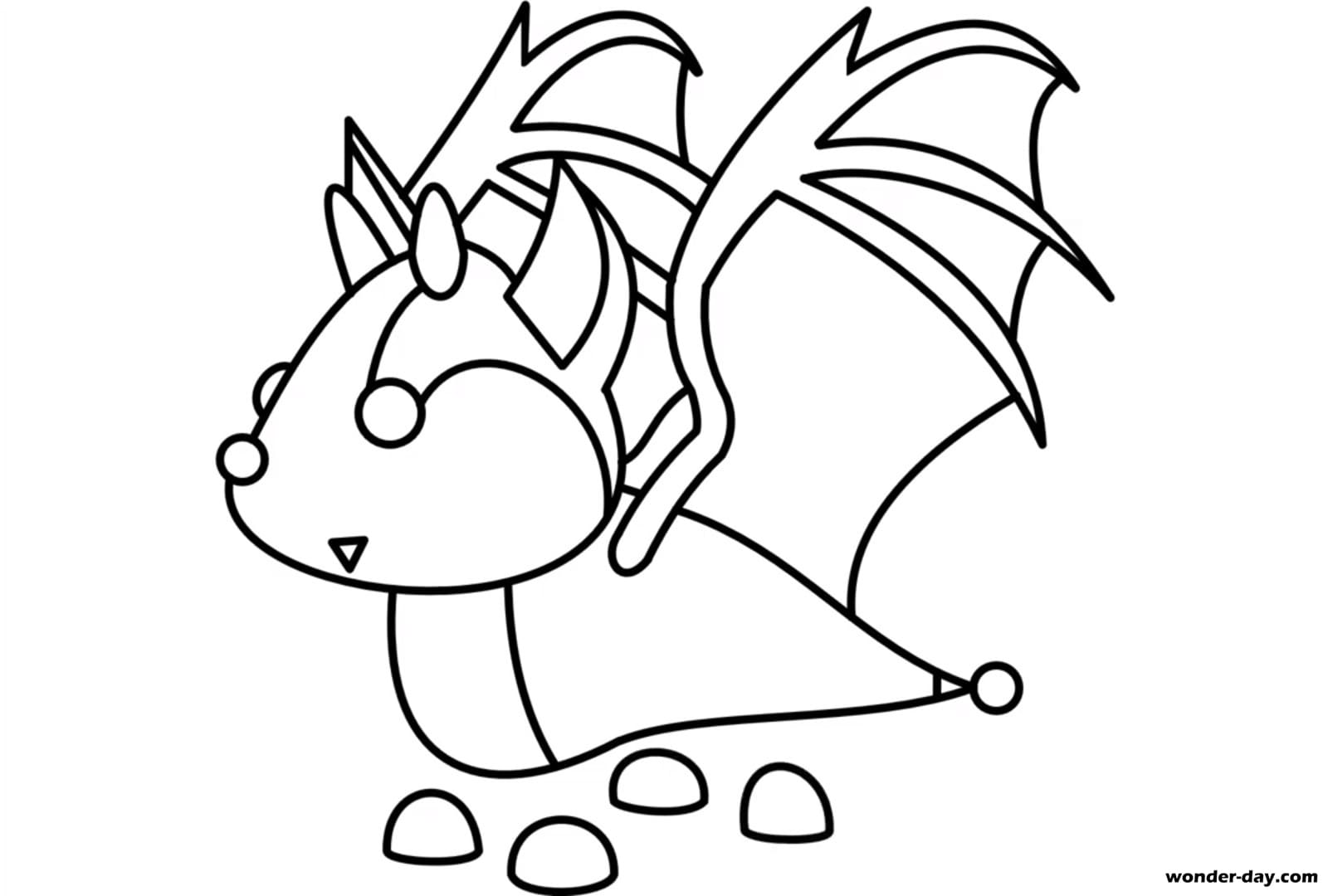 Adopt Me Coloring Pages Coloring Home
