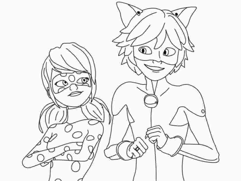 Miraculous Coloring Pages Gallery - Whitesbelfast