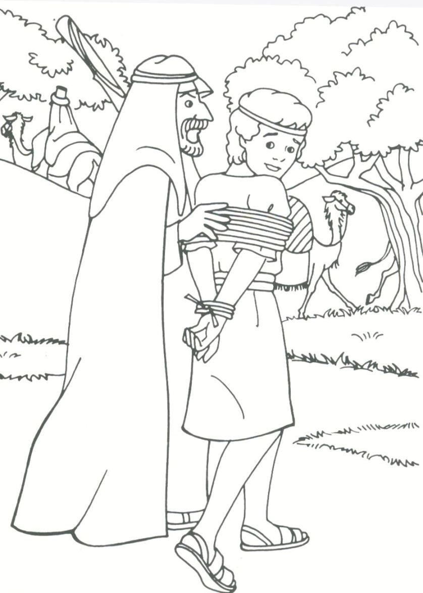 Printable coloring pages joseph coat - Joseph The Patriarch Coloring Pages Joseph The Patriarch Drawings
