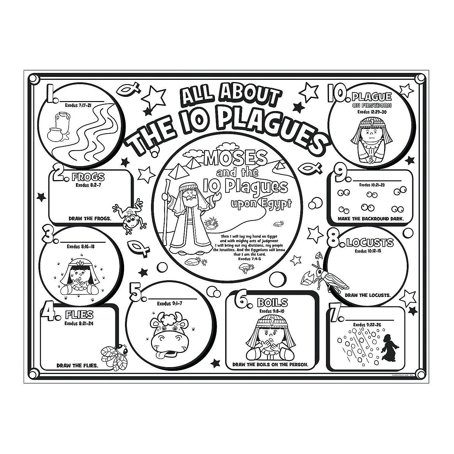 10 plagues coloring page az coloring pages for 10 plagues coloring pages