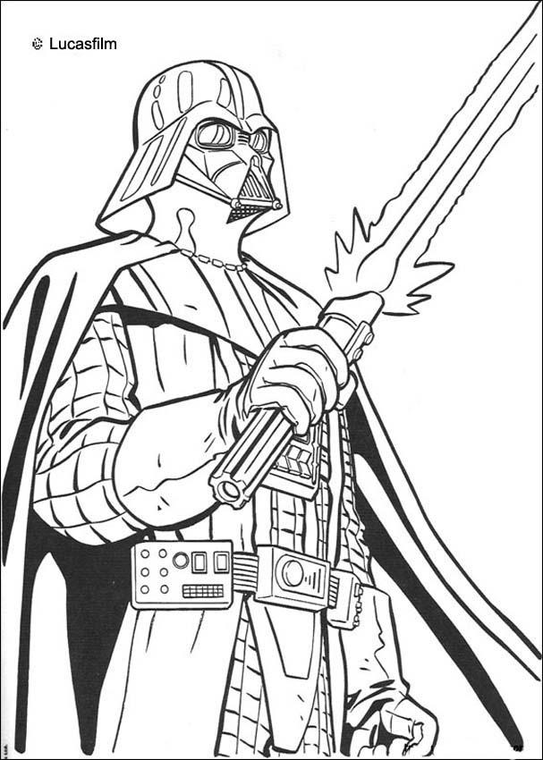 STAR WARS Coloring Pages - Darth Vader - Coloring Home