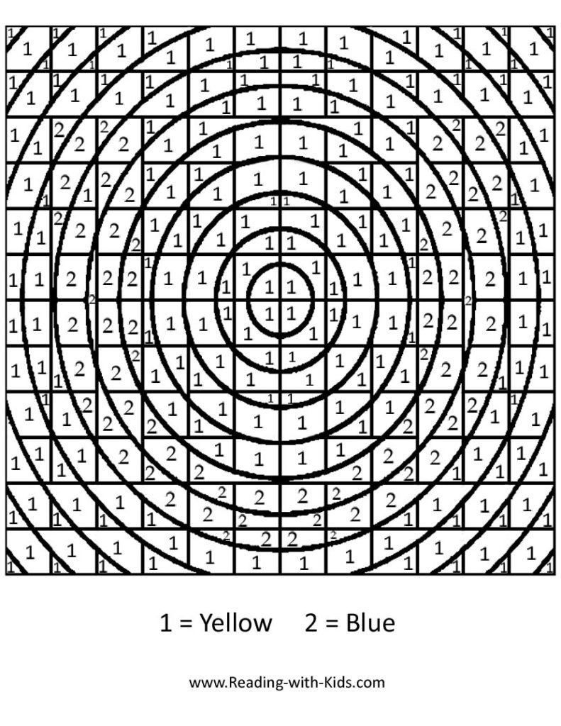 Difficult Coloring Pages With Numbers - Coloring Home
