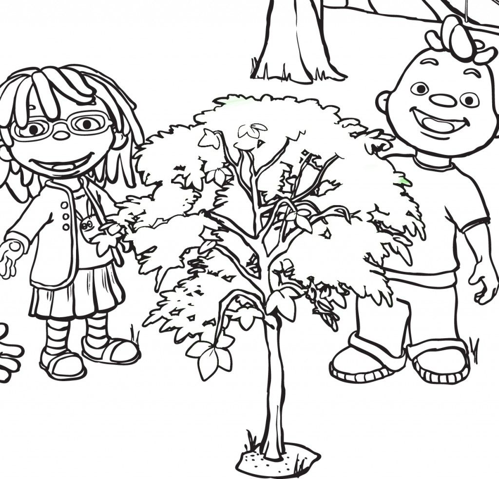 Sid The Science Kid Coloring Page - Coloring Home