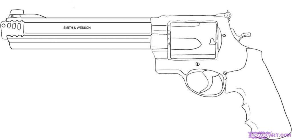 Gun Coloring Pages Pdf : Coloring pages free of air guns gun