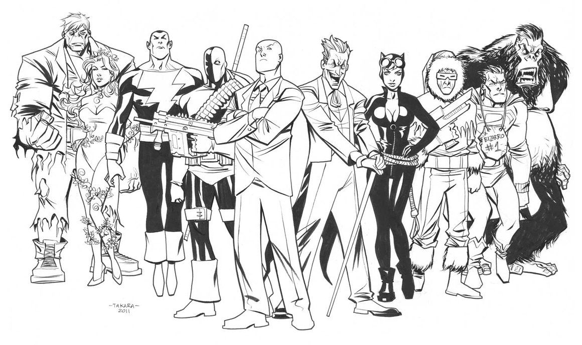 marvel supervillains coloring pages - photo#2