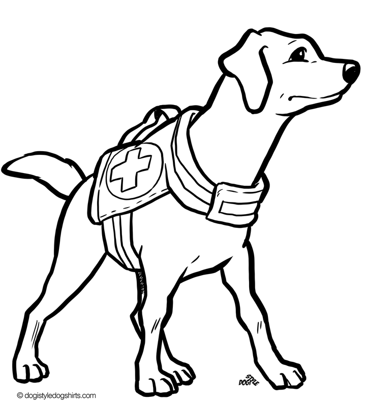 20 free Dog coloring pages | Coloring pages of dogs - DogiStyle