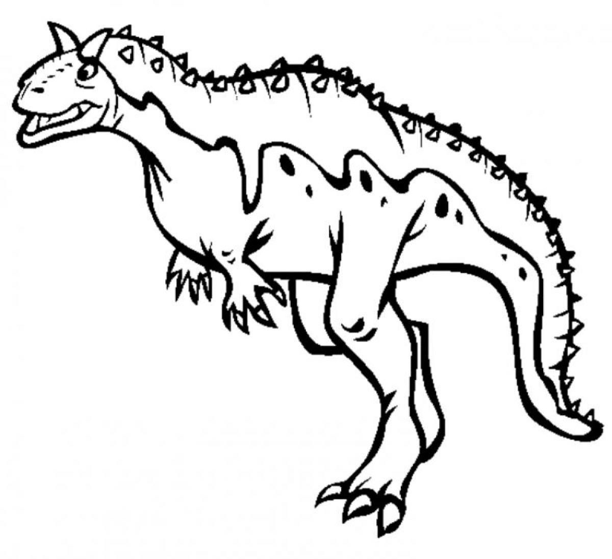 carnotaurus coloring pages coloring pages. Black Bedroom Furniture Sets. Home Design Ideas
