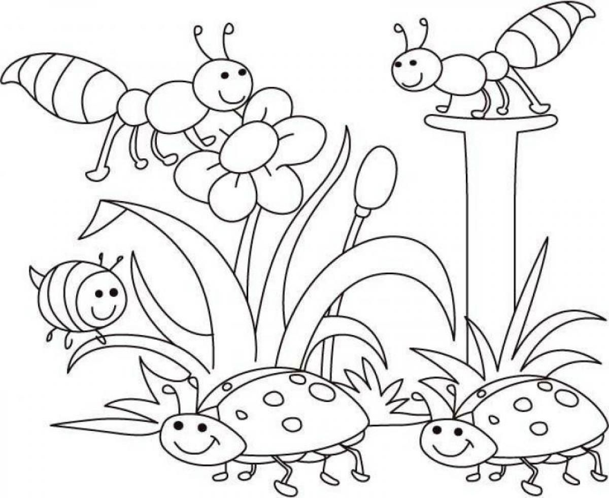 Coloring Pages For Kindergarten Spring - Coloring