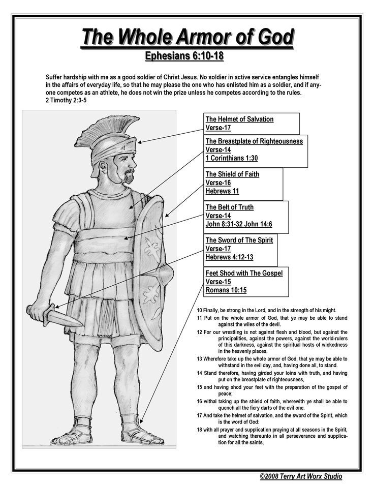 Armor Of God Coloring Pages Excellent - Coloring pages